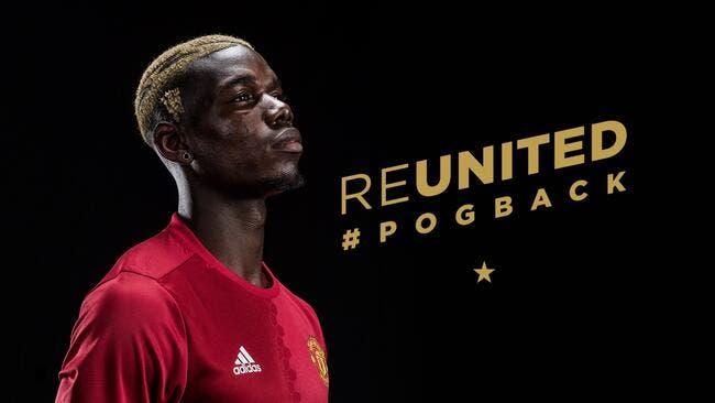 Officiel : Paul Pogba est transféré à Manchester United pour 104,6 ME
