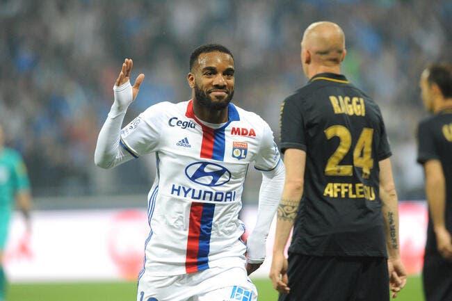 OL : Lyon réclame 70ME à Arsenal pour Lacazette !