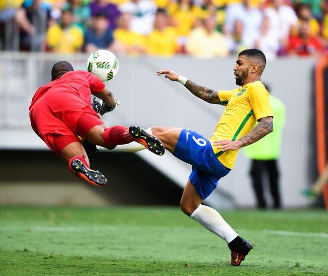 JO 2016: Le Brésil se déchaine face au Danemark
