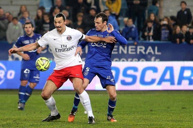 Bastia: Ibrahimovic, le PSG n'a rien perdu pense Squillaci