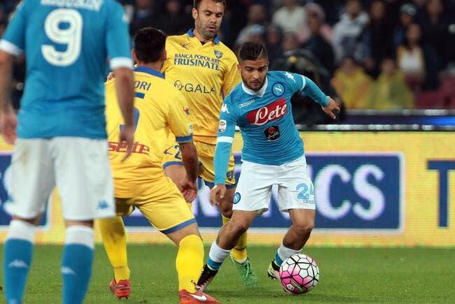 PSG : Insigne veut partir de Naples, et se tourne vers Paris