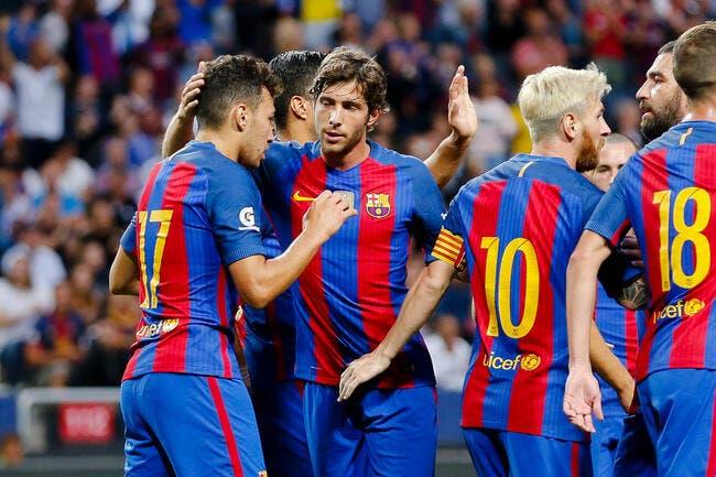Espagne : Le Barça fait le break contre Séville en Supercopa