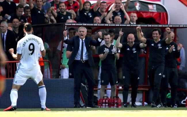 Mourinho effaré qu'Ibrahimovic n'ait jamais eu le Ballon d'Or