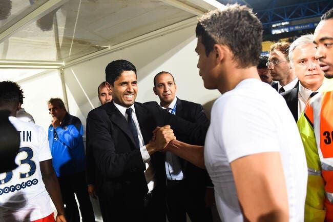 PSG : Thiago Silva a détesté une décision de Nasser Al-Khelaifi !