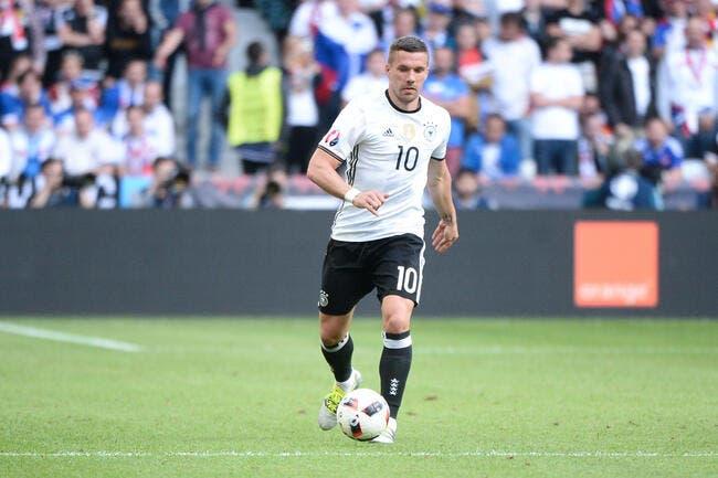 Allemagne : Podolski prend sa retraite internationale