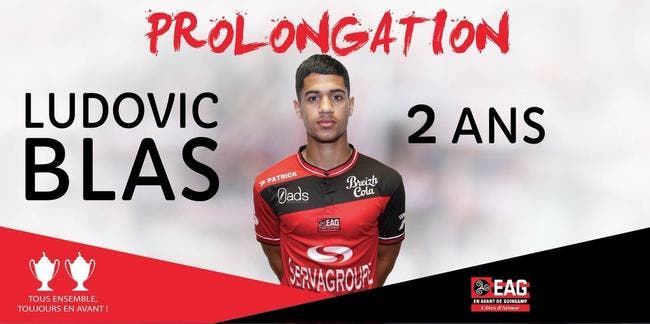 EAG : Convoité par l'OL, Blas prolonge à Guingamp