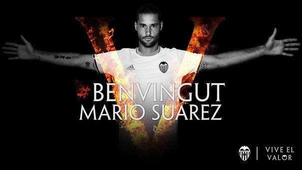 Mercato : Mario Suarez rejoint le Valence FC
