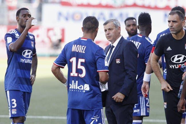 OL : Touché aux cervicales, Jérémy Morel ne s'entraîne pas