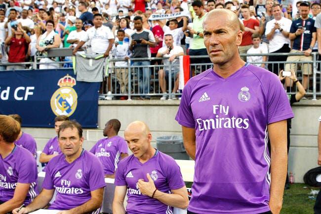 Real Madrid : Zidane a parlé, le mercato s'est calmé