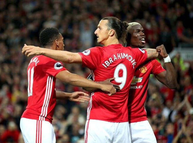 Man Utd domine Southampton 2-0 avec un doublé signé Ibra