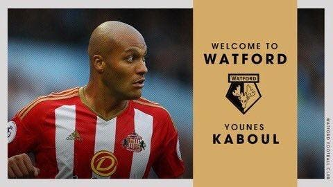 Mercato : Younes Kaboul quitte Sunderland pour Watford