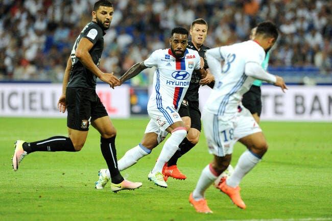 OL - Caen : 2-0