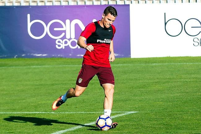 Gameiro en roue de secours de l'Atlético, Simeone assume