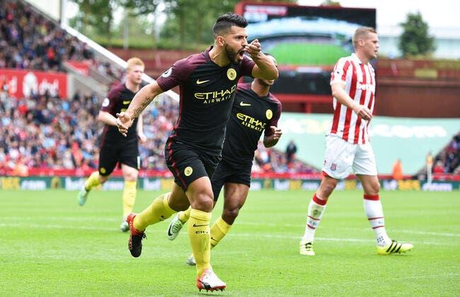 Stoke City - Man City : 1-4