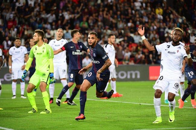 PSG - Metz : 3-0