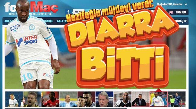 OM : Accord trouvé pour Lassana Diarra à Galatasaray !