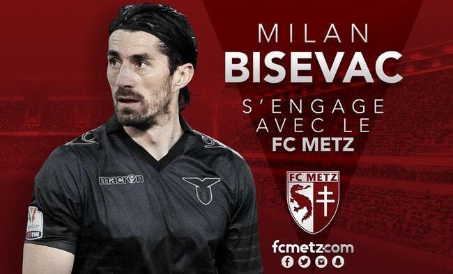 Mercato : Bisevac signe deux ans au FC Metz