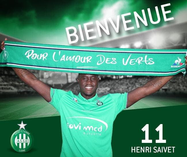 Officiel: Saivet prêté à Saint-Etienne