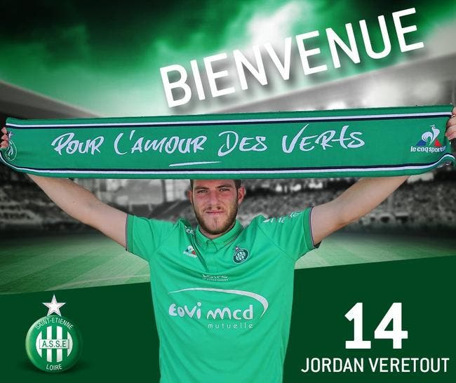 Officiel : Veretout prêté à l'AS Saint-Etienne