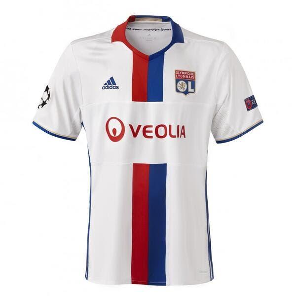 OL : Le maillot Ligue des champions 2016-2017 dévoilé