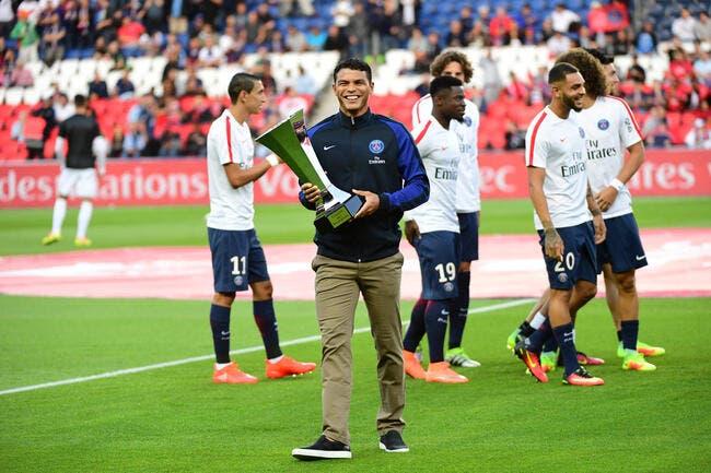 PSG : Thiago Silva avoue l'évidence sur la poule de Paris