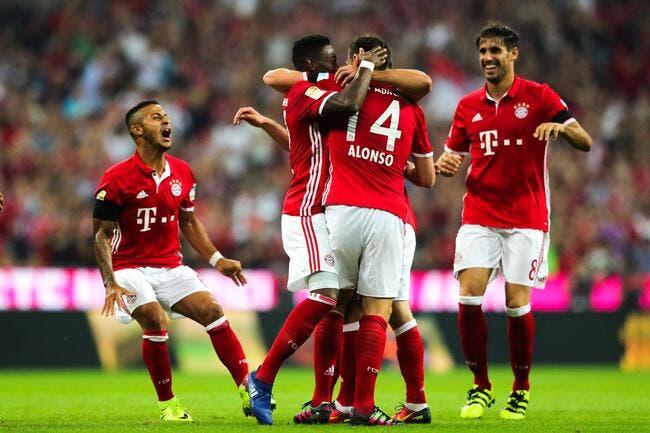 All: Le Bayern commence par un énorme carton