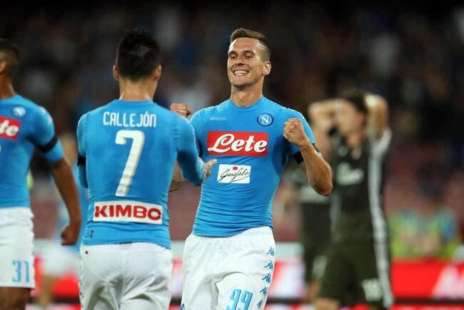 Naples - Milan AC : 4-2