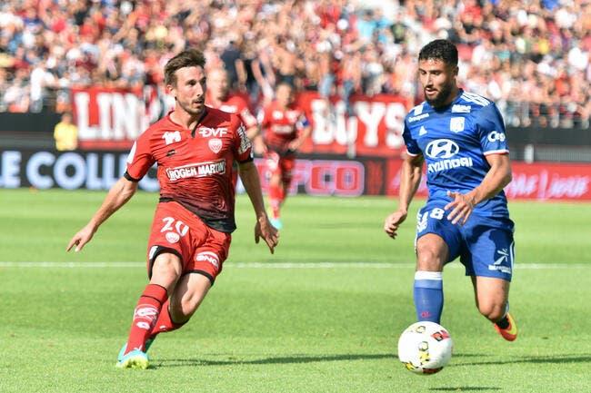 OL: Fékir souffrait du genou avant le match à Dijon!