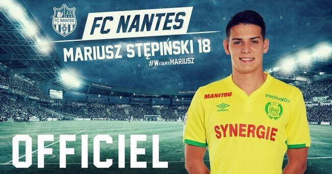 Officiel : Stepinski signe 4 ans à Nantes