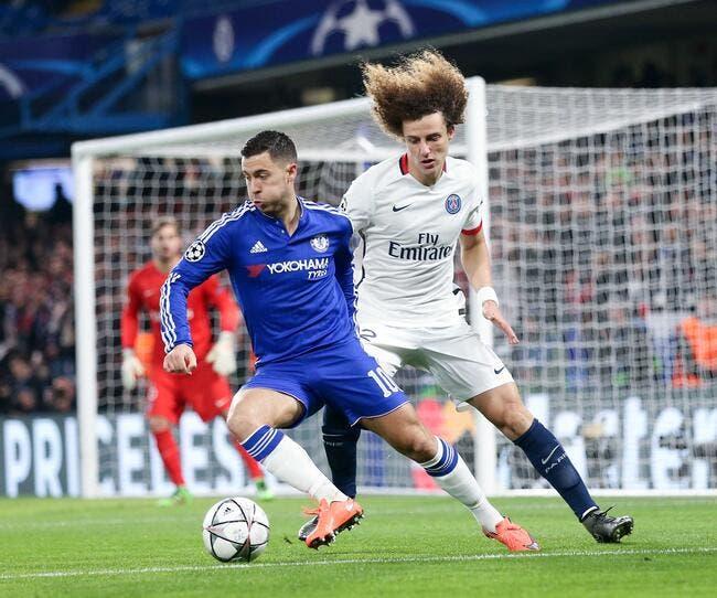 PSG: Chelsea offre 37 ME pour récupérer David Luiz !