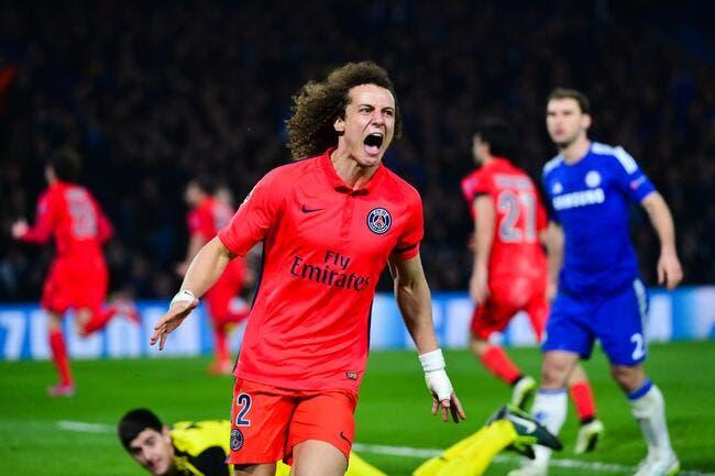 Mercato : Le PSG refuse les 40ME de Chelsea pour David Luiz