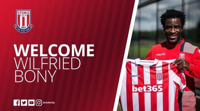 Mercato : Man City prête Wilfried Bony à Stoke City