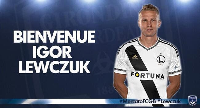 Officiel: Bordeaux fait signer Lewczuk