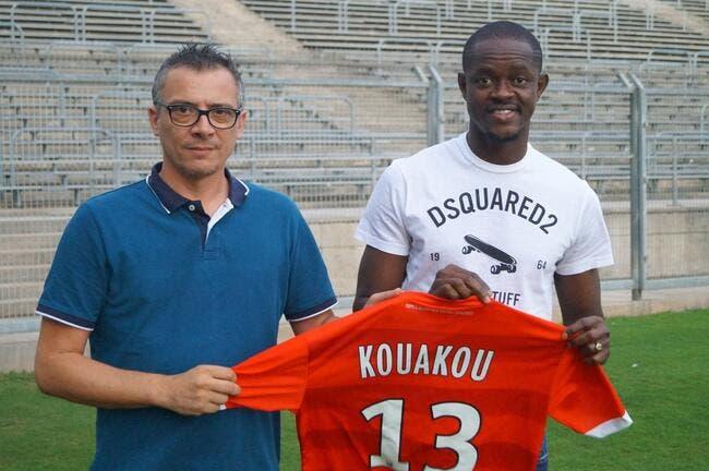 Officiel : Caen prête Kouakou à Nîmes