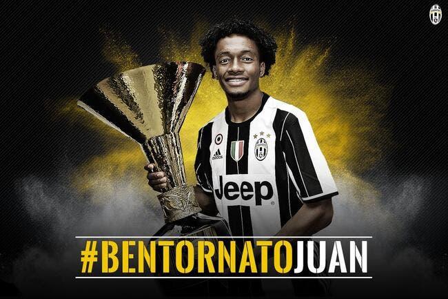 Officiel: Cuadrado reste à la Juventus