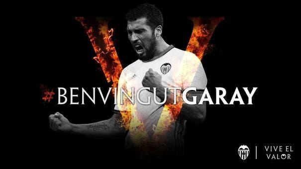 Officiel : Garay s'engage à Valence jusqu'en 2020