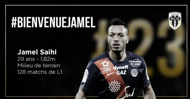 Officiel : Jamel Saihi signe à Angers