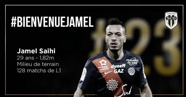 Officiel: Jamel Saihi signe à Angers