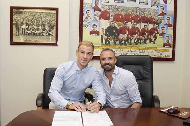 Officiel : Joe Hart prêté un an au Torino par Man City