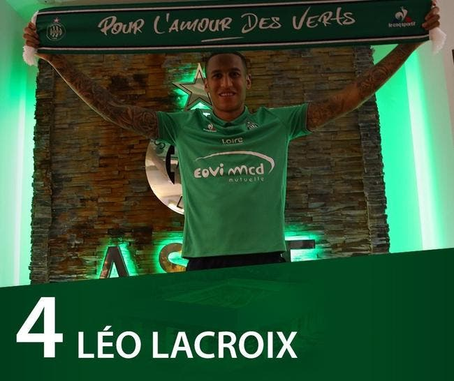 Officiel : Léo Lacroix signe à l'ASSE jusqu'en 2020