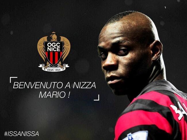 Officiel : Mario Balotelli signe à Nice !