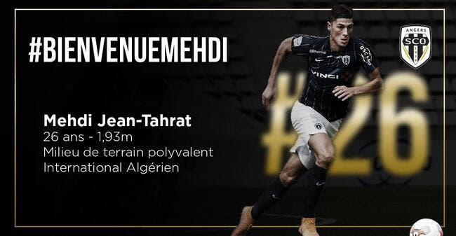 Officiel: Mehdi Jean-Tahrat signe à Angers