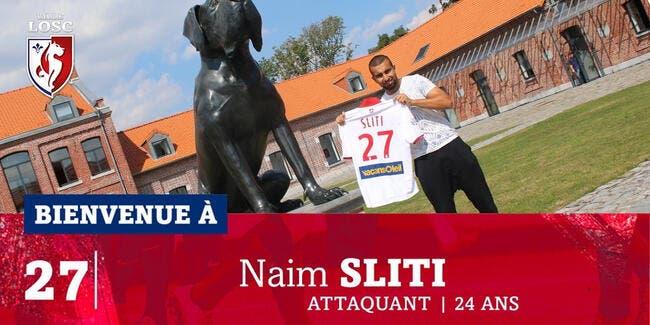 Officiel : Naïm Sliti prêté par le Red Star à Lille