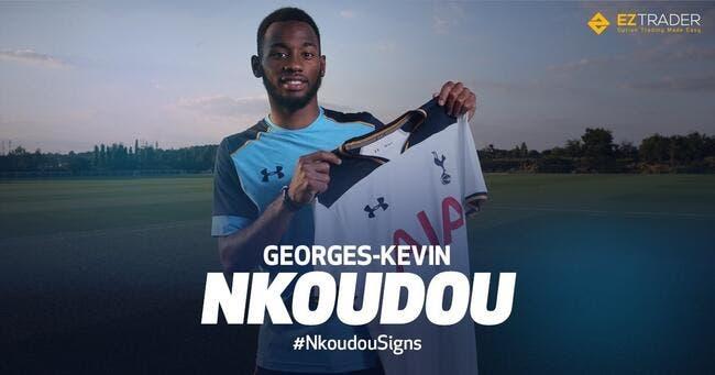 Officiel : Nkoudou quitte l'OM et signe à Tottenham jusqu'en 2021 !