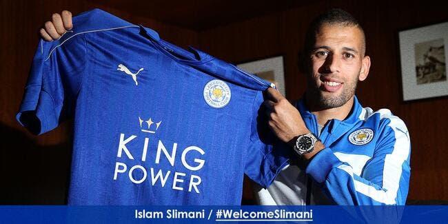 Officiel : Slimani signe à Leicester pour 30 ME