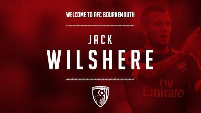 Officiel : Wilshere est prêté à Bournemouth par Arsenal