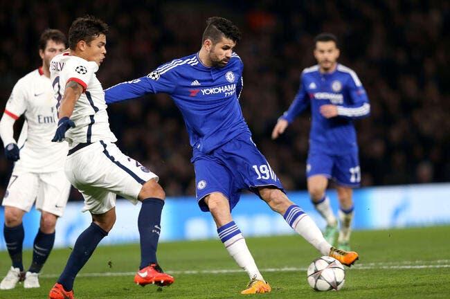 PSG : Diego Costa dans le deal avec Chelsea pour David Luiz ?