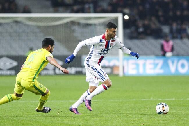 OL - Mercato : Signature gratuite de Rachid Ghezzal avec l'Atletico ?