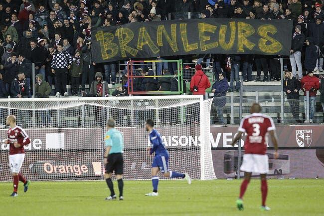Metz : Un joueur messin clashe les supporters
