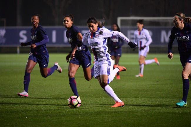 Foot féminin : l'OL battu par le PSG